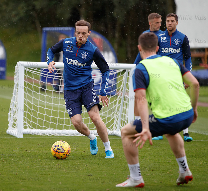 30.08.2019 Rangers training: Brandon Barker
