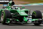 JEREZ. SPAIN. FORMULA 1<br />2013/14 en el Circuito de Jerez 31/01/2014 La imagen muestra a Kobayashi de Catherham F1  LP / Photocall3000