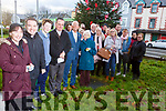 Attending the Remembrance Tree Service in the Tralee Municipal Offices in Tralee on Sunday. <br /> Front l-r, Sharon Roche, Fr Sean Hannafin, Joshua Roche, Fr Francis Nolan, Cllr Sammy Locke and Philomena Roche.