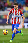 Gabriel Fernandez Arenas, Gabi, of Atletico de Madrid in action during their La Liga match between Atletico de Madrid and RC Celta de Vigo at the Vicente Calderón Stadium on 12 February 2017 in Madrid, Spain. Photo by Diego Gonzalez Souto / Power Sport Images