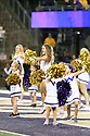 SEATTLE, WA - September 07:  Washington cheer member Cassadey Porter entertained fans during the college football game between the Washington Huskies and the California Bears on September 07, 2019 at Husky Stadium in Seattle, WA. Jesse Beals / www.Olympicphotogroup.com