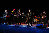 FORT LAUDERDALE FL - FEBRUARY 22: Rod Argent, Soren Koch, Steve Rodford, Colin Blunstone and Tom Toomey of The Zombies perform at The Broward Center on February 22, 2019 in Fort Lauderdale, Florida. : Credit Larry Marano © 2019