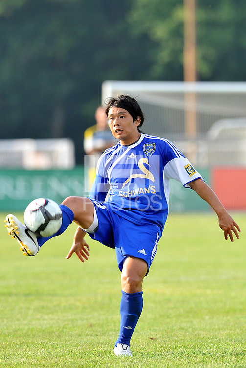Kintaro Takada (minn)...AC St Louis and NSC Minnesota Stars played to a 2-2 tie at Anheuser-Busch Soccer Park, Fenton, Missouri.