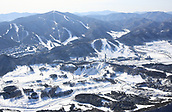 2017, PyeongChang, South Korea;  Alpensia resort in Pyeongchang, Gangwon province, South Korea. The International Olympic Committee carried out on-site inspection of the area in mid-February 2011 following the city's bid to host the 2018 Winter Games.