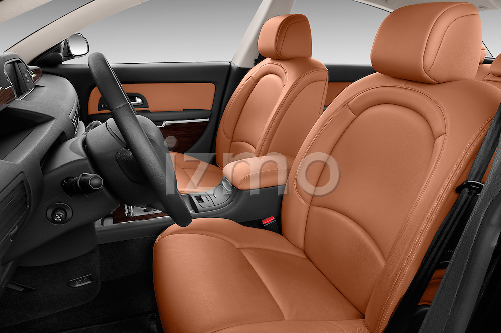 Front seat view of a 2005 - 2012 Citroen C6 Exclusive Sedan.