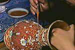 Painting On .Cloisonné