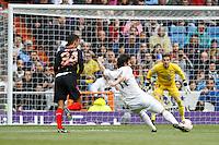 29.04.2012 SPAIN -  La Liga matchday 36th  match played between Real Madrid CF vs Sevilla Futbol Club (3-0) at Santiago Bernabeu stadium. The picture show Esteban Granero (Spanish midfielder of Real Madrid)