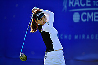 So Yeon Ryu, of Korea, plays her shot from the first tee during the third round of the ANA Inspiration at the Mission Hills Country Club in Palm Desert, California, USA. 3/31/18.<br /> <br /> Picture: Golffile | Bruce Sherwood<br /> <br /> <br /> All photo usage must carry mandatory copyright credit (&copy; Golffile | Bruce Sherwood)during the second round of the ANA Inspiration at the Mission Hills Country Club in Palm Desert, California, USA. 3/31/18.<br /> <br /> Picture: Golffile | Bruce Sherwood<br /> <br /> <br /> All photo usage must carry mandatory copyright credit (&copy; Golffile | Bruce Sherwood)
