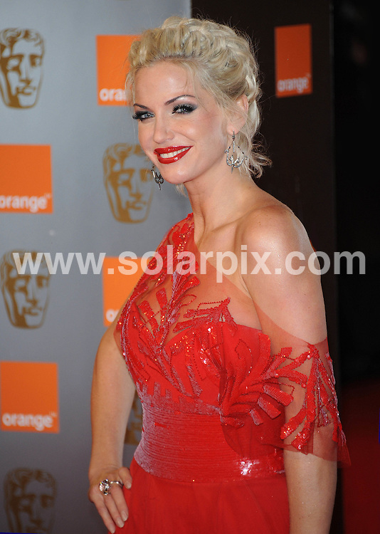 **ALL ROUND PICTURES FROM SOLARPIX.COM**                                             **WORLDWIDE SYNDICATION RIGHTS**                                                                                  Caption: Arrivals to the Orange British Academy Film Awards held at The Royal Opera House, London, UK. February 13, 2011                                                                            This pic: Sarah Harding                                                                      JOB REF: 12790 SSD       DATE: 13_02_2010                                                           **MUST CREDIT SOLARPIX.COM OR DOUBLE FEE WILL BE CHARGED**                                                                      **MUST AGREE FEE BEFORE ONLINE USAGE**                               **CALL US ON: +34 952 811 768 or LOW RATE FROM UK 0844 617 7637**