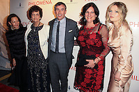 "NEW YORK, NY - NOVEMBER 12: Philomena Lee, Steve Coogan, Jane Lee, Sophie Kennedy Clark at the New York Premiere Of The Weinstein Company's ""Philomena"" held at Paris Theater on November 12, 2013 in New York City. (Photo by Jeffery Duran/Celebrity Monitor)"