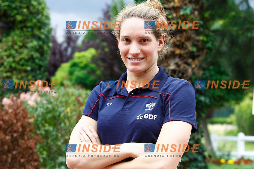 Camille Muffat.Parigi 5/7/2012 .Nuoto Open di Francia.Foto Insidefoto / Gwendoline Le Goff / Panoramic.Italy Only