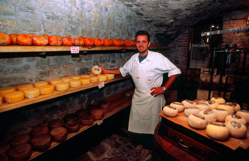 Macelleria Falorni (butcher shop), Greve in Chianti, Tuscany, Italy