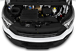 Car Stock 2018 Iveco Daily S 4 Door Cargo Van Engine  high angle detail view