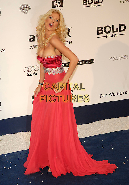 VICTORIA SILVSTEDT.amFAR's Cinema Against Aids Benefit - Arrivals, .59th International Cannes Film Festival,.Moulins de Mougins, Cannes, France, May 25th 2006..full length red strapless dress boobs breasts too tight small cleavage head tilted back.Ref: KRA.www.capitalpictures.com.sales@capitalpictures.com.©Persun/Capital Pictures