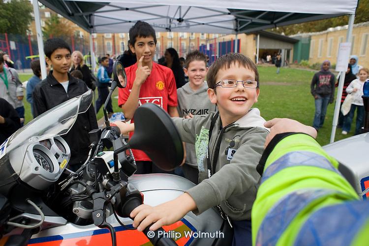 Youth Action Day at Cumberland Market, Regent's Park Estate, Camden.
