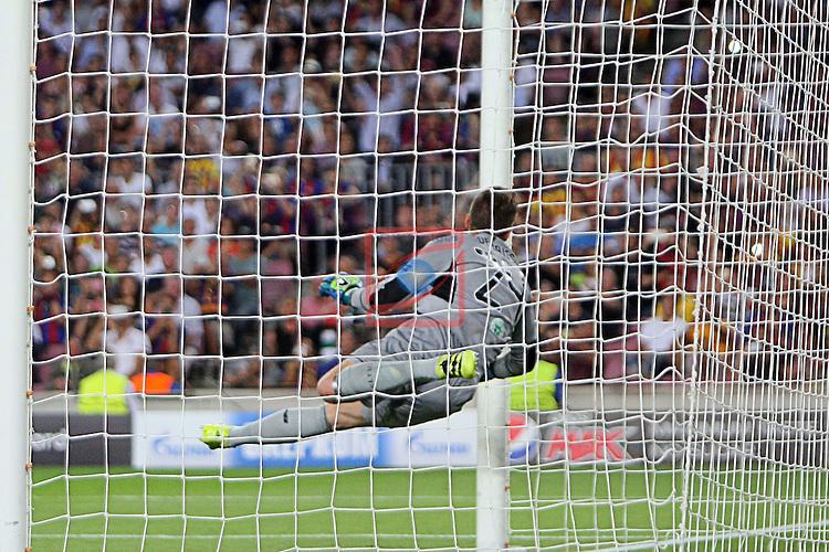 UEFA Champions League 2016/2017 - Matchday 1.<br /> FC Barcelona vs Celtic FC: 7-0.<br /> Dorus de Vries.