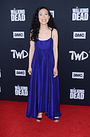 "LOS ANGELES - SEP 23:  Angela Kang at the ""The Walking Dead"" Season 10 Premiere Event at the TCL Chinese Theater on September 23, 2019 in Los Angeles, CA"