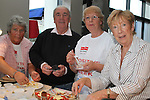 Gay Woods, Michael Clarke, Theresa Morley and Joan McEvoy at the Cooking For One demonstation for Positive Aging Week in the dHotel...Picture Jenny Matthews/Newsfile.ie
