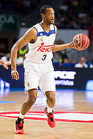 Real Madrid's player Anthony Randolph during match of Liga Endesa at Barclaycard Center in Madrid. September 30, Spain. 2016. (ALTERPHOTOS/BorjaB.Hojas) /NORTEPHOTO.COM