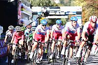 Picture by Alex Whitehead/SWpix.com - 28/09/2018 - Cycling 2018 Road Cycling World Championships Innsbruck-Tiriol, Austria - Mens U23 Road Race - Russia.