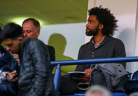Former Preston North End player Youl Mawene takes a seat for the match<br /> <br /> Photographer Alex Dodd/CameraSport<br /> <br /> The EFL Sky Bet Championship - Preston North End v Leeds United -Tuesday 9th April 2019 - Deepdale Stadium - Preston<br /> <br /> World Copyright &copy; 2019 CameraSport. All rights reserved. 43 Linden Ave. Countesthorpe. Leicester. England. LE8 5PG - Tel: +44 (0) 116 277 4147 - admin@camerasport.com - www.camerasport.com