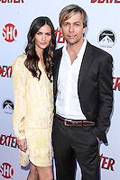 HOLLYWOOD, CA - JUNE 15: Lauren Flanery and Sean Patrick Flanery arrive at the premiere screening of Showtime's 'Dexter' Season 8 at Milk Studios on June 15, 2013 in Hollywood, California. (Photo by Celebrity Monitor)