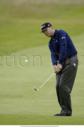 DAVIS LOVE III. The Open Championship, Muirfield, Scotland 020720. Photo:Glyn Kirk/Action Plus...Golf.2002.sequence