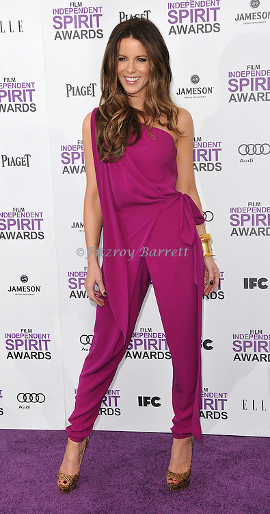 Kate Beckinsale at the 2012 Film Independent Spirit Awards held at Santa Monica Beach, CA.. February 25, 2012