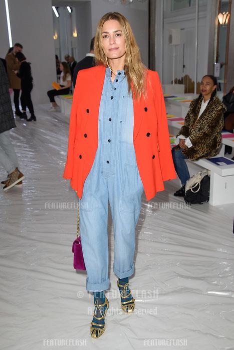 Yasmin Le Bon at the Jasper Conran show as part of London Fashion Week, London, UK. <br /> 17 February  2018<br /> Picture: Steve Vas/Featureflash/SilverHub 0208 004 5359 sales@silverhubmedia.com