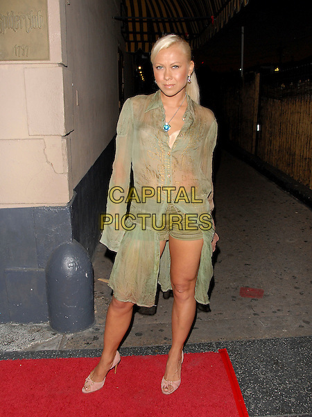 OKSANA BAIUL.attends Midsummer Night's Dream: A Magic Night of Poker held at The Avalon in Hollywood, california, USA,.July 7, 2006..full length green sheer shorts see throu top tunic long shirt dress.Ref: DVS.www.capitalpictures.com.sales@capitalpictures.com.©Debbie VanStory/Capital Pictures