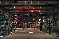 A look into the Margot and Bill Winspear Opera House in Dallas. The Winspear Opera House located in the Art District in Dallas Texas is a very impressive site and has become part of the Dallas cityscape.