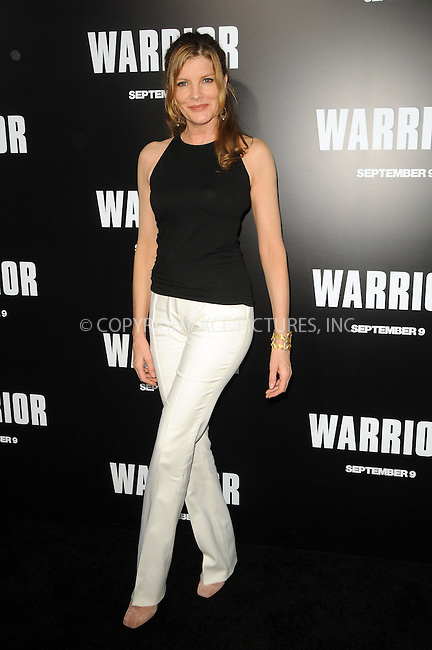 WWW.ACEPIXS.COM . . . . .  ....September 6 2011, LA....Actress Rene Russo arriving at the premiere of 'Warrior' at the Arclight Hollywood on September 6, 2011 in Hollywood, California.....Please byline: PETER WEST - ACE PICTURES.... *** ***..Ace Pictures, Inc:  ..Philip Vaughan (212) 243-8787 or (646) 679 0430..e-mail: info@acepixs.com..web: http://www.acepixs.com