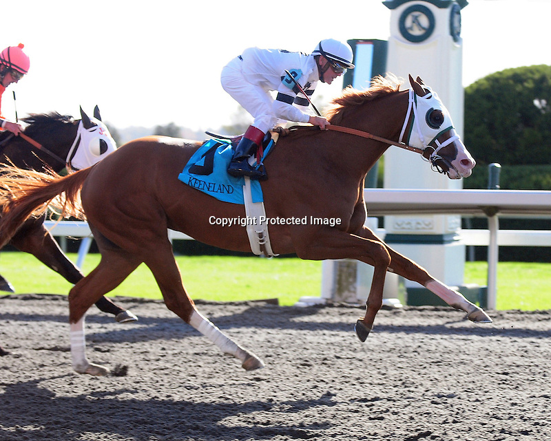 Will Take Charge and Jon Court win the 7th race at Keeneland Racecourse.October 18, 2012. (( Special transmission of horses in the Top 25 for points for the 2013 KentuckyDerby ))