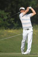 Soren Kjeldsen (DEN) on the 6th during Round 4 of the 2013 Avantha Masters, Jaypee Greens Golf Club, Greater Noida, Delhi, 17/3/13..(Photo Jenny Matthews/www.golffile.ie)