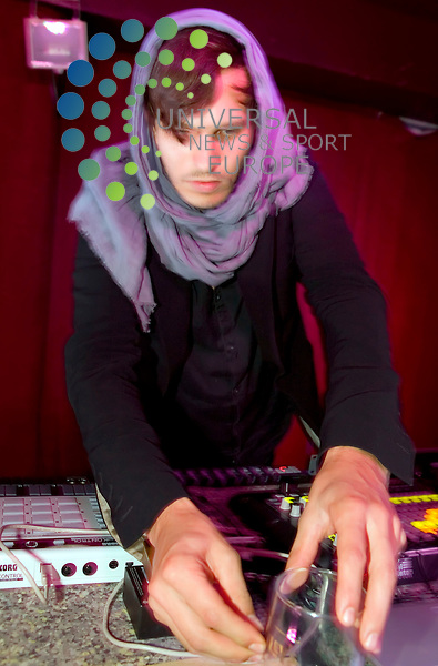 Pantha du Prince, real name Hendrik Weber, is a German electronic music producer and DJ playing at the Captains Rest in Glasgow on 13th August 2010 ahead of an appearance at the Edge Festival in Edinburgh. .. .Pictures: Peter Kaminski/Universal News and Sport (Europe)2010