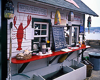 Lobster shack, Mt Desert Island, Maine