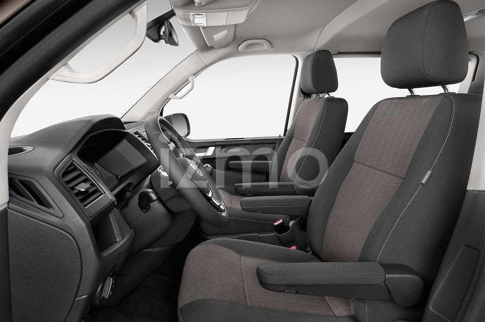 Front seat view of 2016 Volkswagen Caravelle Comfortline 5 Door Minivan Front Seat car photos