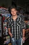 One Life To Live's Scott Clifton goes to Barnes and Noble - Lincoln Triangle, NYC on June 26, 2009 to check out the store - (Photos by Sue Coflin/Max Photos)