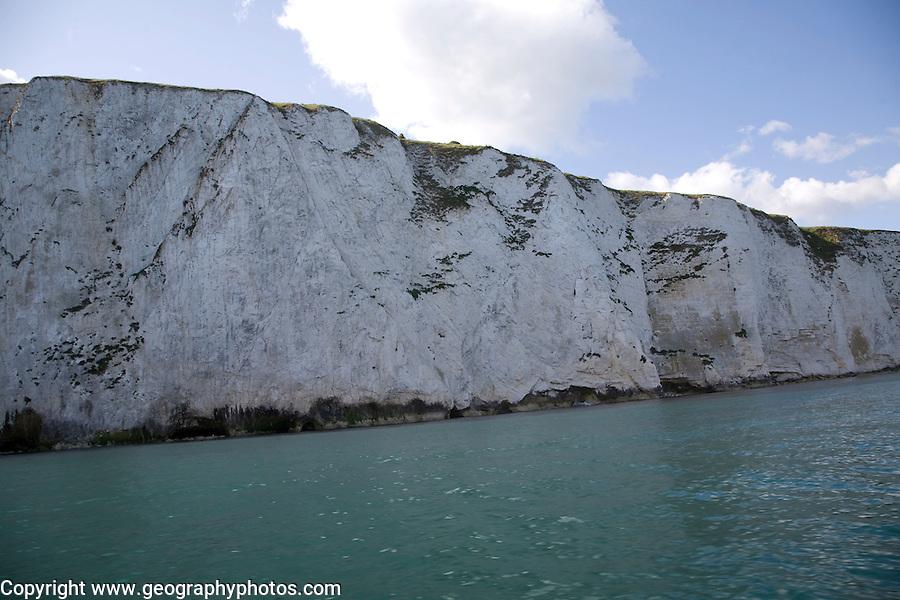 Ballard Fault, Ballard Point headland, near Old Harry Rocks, Swanage, Dorset, England