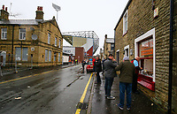 Burnley fans buy a sandwich at a shop close to Turf Moor<br /> <br /> Photographer Alex Dodd/CameraSport<br /> <br /> The Premier League - Burnley v West Ham United - Sunday 30th December 2018 - Turf Moor - Burnley<br /> <br /> World Copyright © 2018 CameraSport. All rights reserved. 43 Linden Ave. Countesthorpe. Leicester. England. LE8 5PG - Tel: +44 (0) 116 277 4147 - admin@camerasport.com - www.camerasport.com