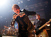 Frank Carter & The Rattlesnakes - vocalist Frank Carter - performing live at Koko in Camden London UK - 30 Mar 2017.  Photo credit: Paul Harries/IconicPix **NOT AVAILABLE FOR UK MUSIC MAGAZINES**