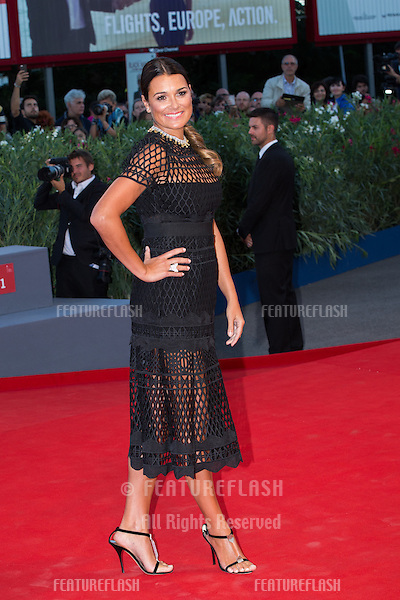 Alena Seredova  at the premiere of Blood Of My Blood at the 2015 Venice Film Festival.<br /> September 8, 2015  Venice, Italy<br /> Picture: Kristina Afanasyeva / Featureflash