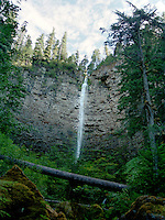 Watson Creek Waterfall on the Umpqua River in Douglas County, Oregon