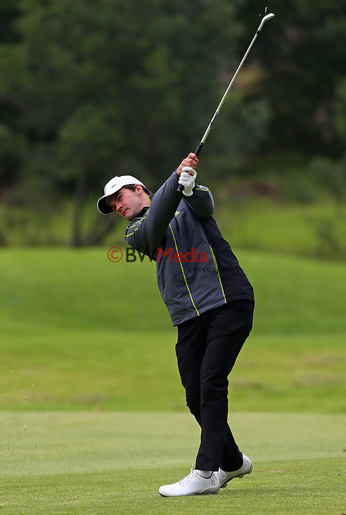 James Beale during the Autex Muriwai Open, Round One, Charles Tour, Muriwai Golf Course, Auckland, New Zealand. Thursday 30 April 2015. Photo: Simon Watts/www.bwmedia.co.nz <br /> All images &copy; NZ Golf and BWMedia.co.nz New Zealand Golf Images:<br /> Any use of New Zealand Golf images must have prior written approval of New Zealand Golf.