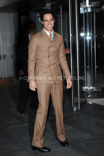 WWW.ACEPIXS.COM<br /> November 5, 2013...New York City<br /> <br /> Zac Posen attends The Museum of Modern Art Film Benefit: A Tribute to Tilda Swinton reception at Museum of Modern Art on November 5, 2013 in New York City.<br /> <br /> <br /> Byline: Kristin Callahan/Ace Pictures<br /> <br /> ACE Pictures, Inc.<br /> tel: 646 769 0430<br />       212 243 8787<br /> e-mail: info@acepixs.com<br /> web: http://www.acepixs.com