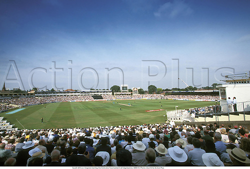 General View of Edgbaston during England v South Africa, Emirates Tournament, 980818. Photo: Glyn Kirk/Action Plus...1998.cricket.ground.grounds.venue venues
