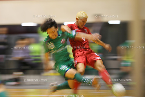 Kaoru Morioka (Oceans), .MARCH 17, 2013 - Futsal :.The 18th Japan Futsal Championship, PUMA CUP, Final between   Nagoya Oceans 4-4 FUGA SUMIDA at 1st Yoyogi Gymnasium, Tokyo, Japan. (Photo by AFLO SPORT) [1156]
