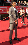 LOS ANGELES, CA - JULY 11: Rajon Rondo arrives at the 2012 ESPY Awards at Nokia Theatre L.A. Live on July 11, 2012 in Los Angeles, California.