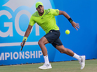 JO-WILFRIED TSONGA (FRA)<br /> <br /> Aegon Championships 2014 - Queens Club -  London - UK -  ATP - ITF - 2014  - Great Britain -  12th June 2014. <br /> <br /> &copy; AMN IMAGES