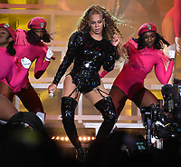 INDIO, CA - APRIL 21:  Beyonce performs at the 2018 Coachella Valley Music And Arts Festival at Indio Polo Grounds on April 21, 2018 in Indio, California. (Photo by Frank Micelotta/PictureGroup)